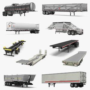 trailers 4 3D model
