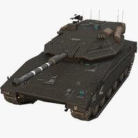 3D model merkava iv