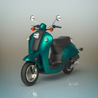 3D mini scooter model