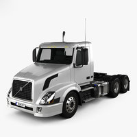3D vnl 300 tractor model