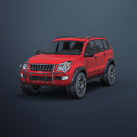 suv car 3D model