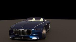 3D model realistic car
