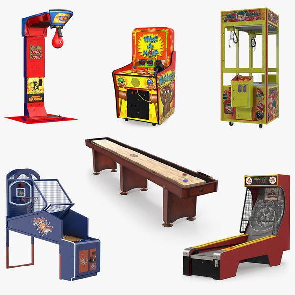 3D arcade games 4 model