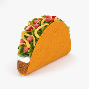 taco food model