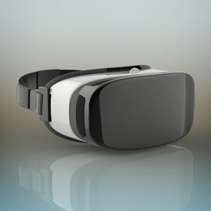 3D model samsung gear vr