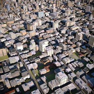 town city house 3D model