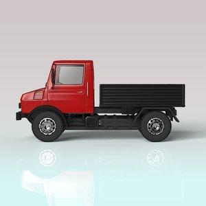 3D model pickup truck