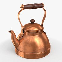 Teapot copper