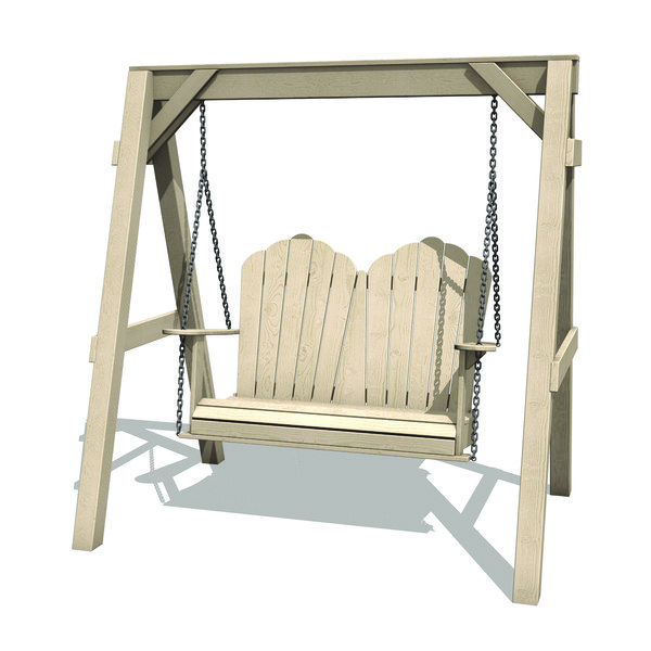 adirondack swing 3D model