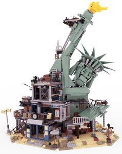 lego apocalypseburg 3D