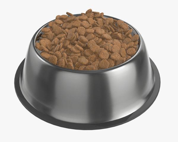 3D food dog bowl