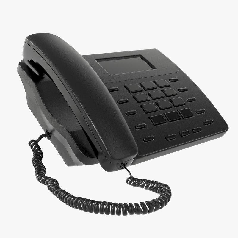 3D phone office