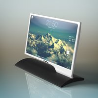 led monitor 3D model
