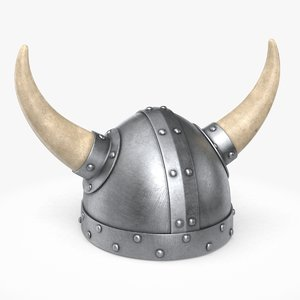 viking helmet helm model