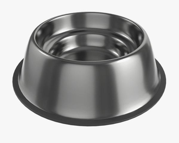 food dog bowl 3D