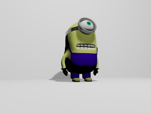 minion character games model