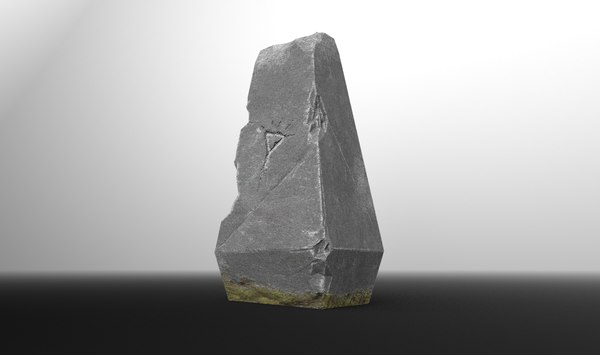 rock stone stonehenge 3D model