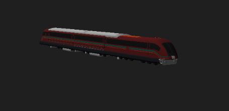 bullet train 3D model