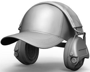 3D msa shooter s cap