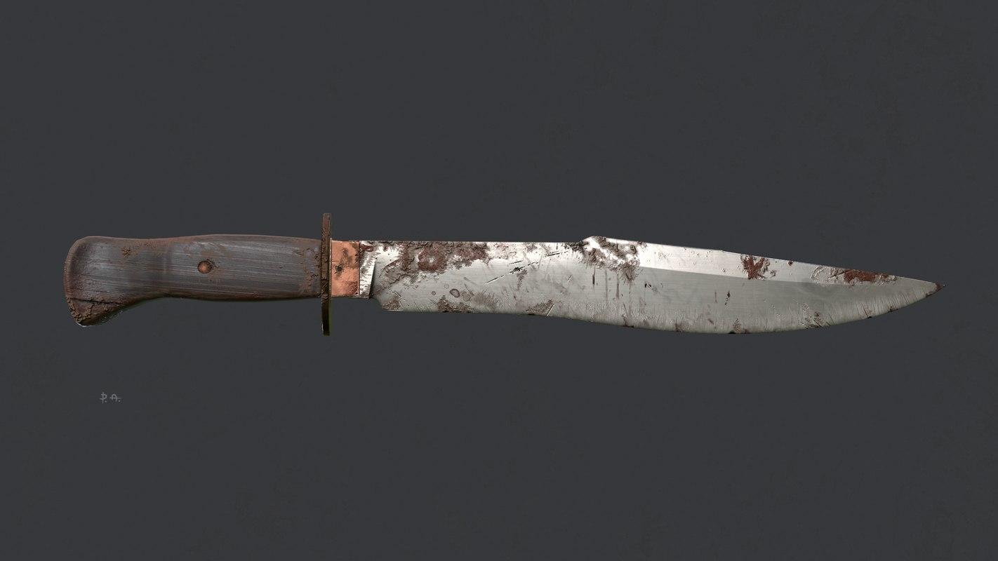 asset bowie knife model