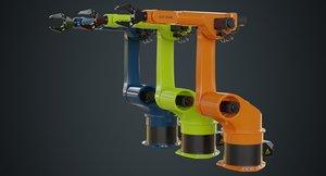 3D industrial robot 3a