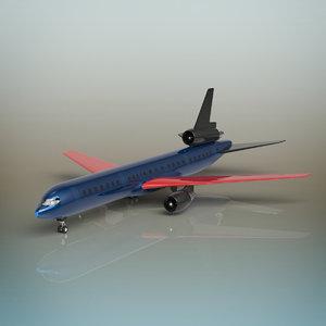 plane aeroplan 3D
