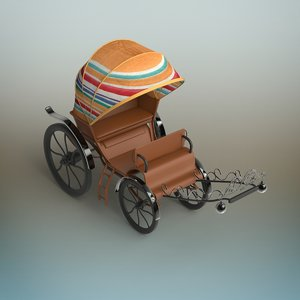 3D carriage modeled
