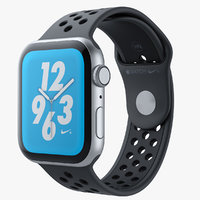 Apple Watch Series 4 Nike Black 3D Model