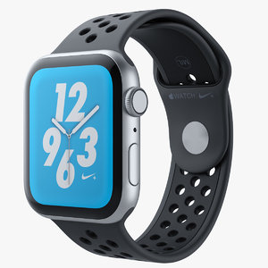 3D apple watch series 4 model