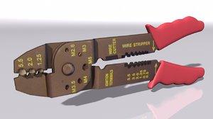 3D crimping tool model