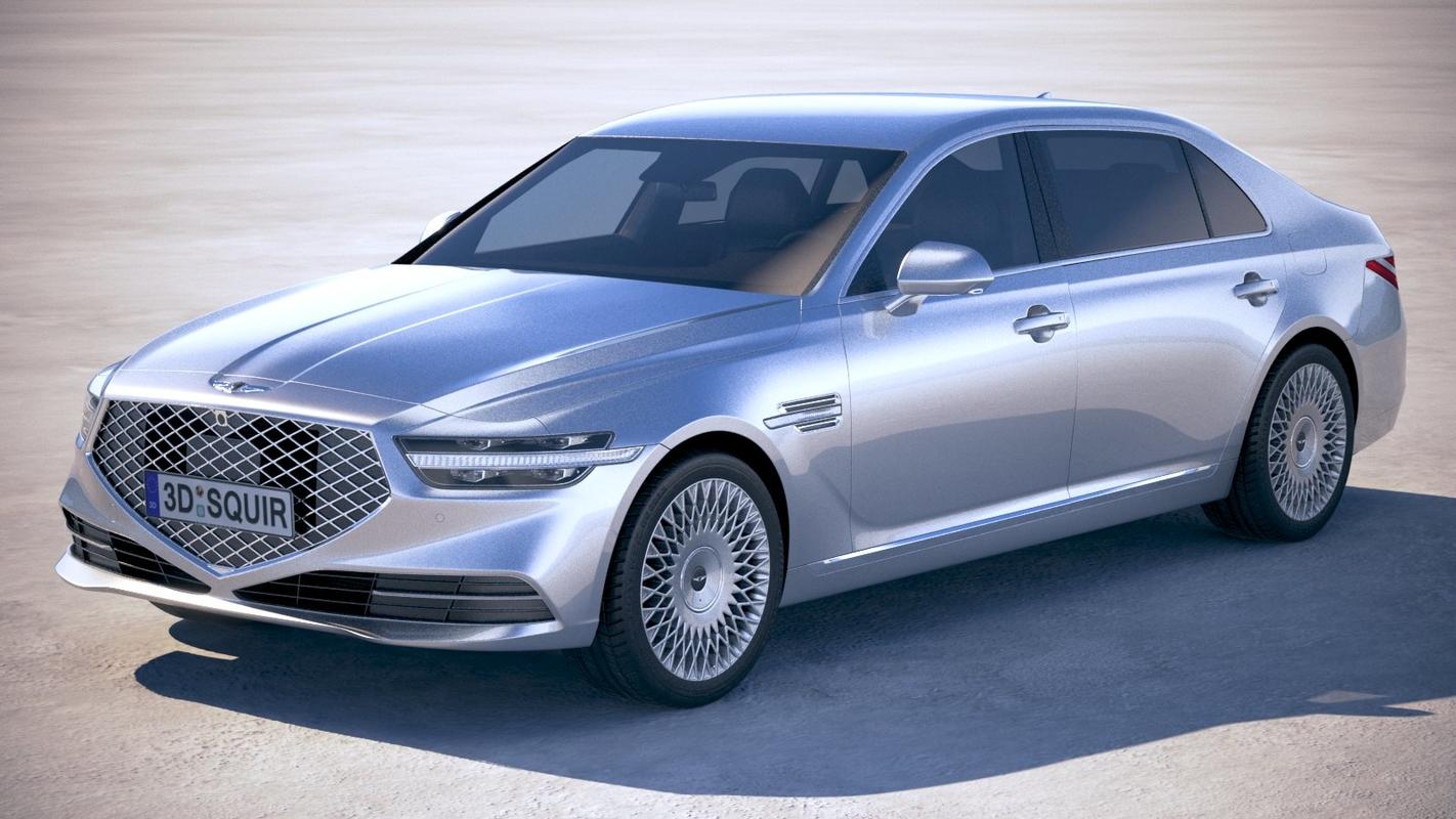 3D genesis g90 2020 model