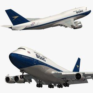 boeing 747 british airways model