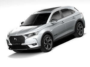 3D ds 7 crossback 2020 model