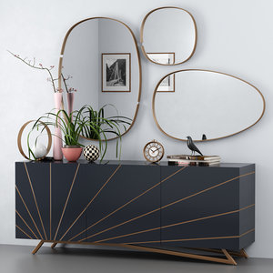 3D design sideboard solaris -