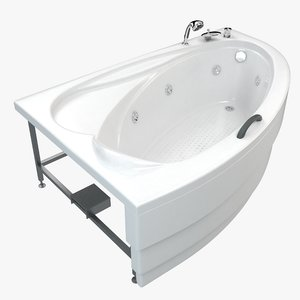 modern bathtub model