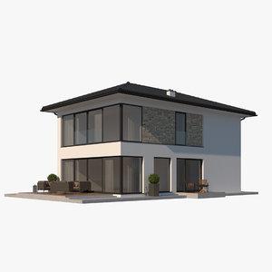 house roof model