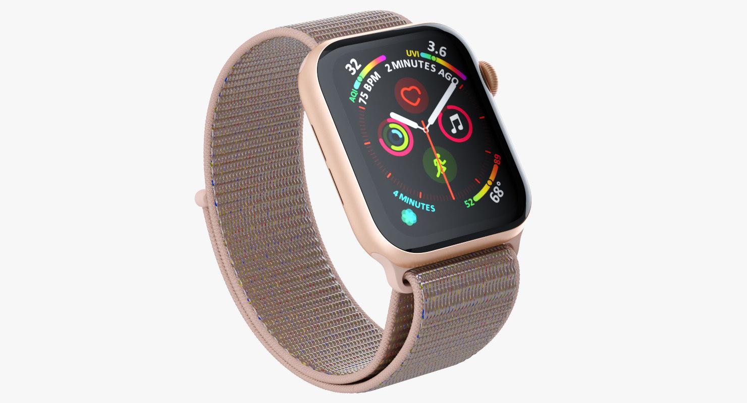 3D apple watch series 4