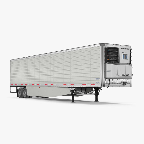 vanguard reefer trailer thermo 3D model
