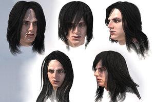 male 5 3D model