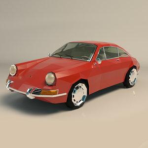 car sports ar 3D model