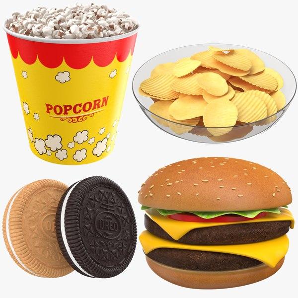 food modeled plate 3D