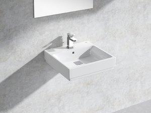 cube wall-hung basin 50 3D model