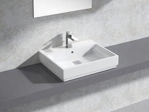 cube countertop basin 60 3D model
