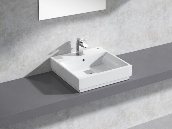 3D cube countertop basin 50