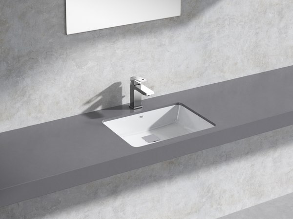 cube counter basin 50 3D model