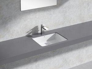 cube counter basin 50 3D model