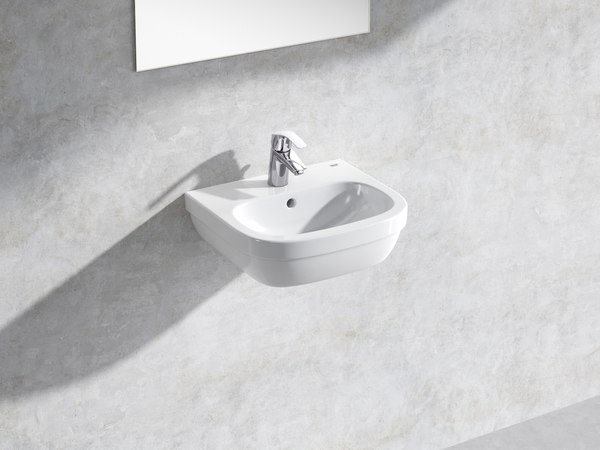3D model euro wall-hung basin 45
