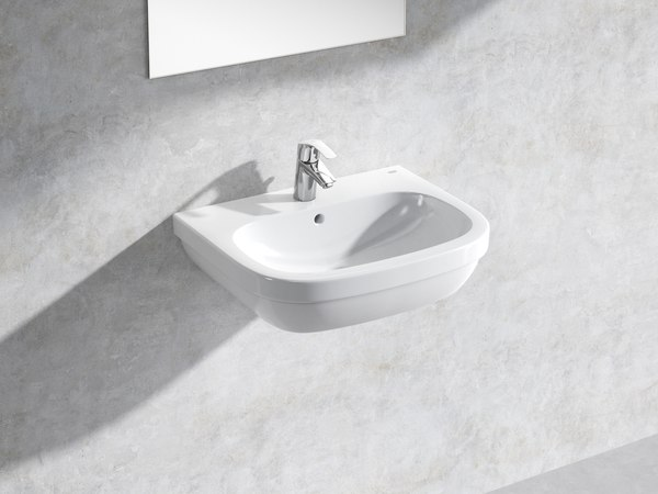 euro wall-hung basin 60 3D model