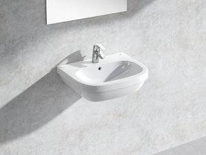 3D euro wall-hung basin 55 model