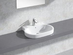 3D eurocosmo countertop basin 60